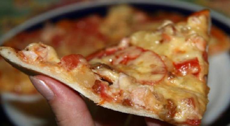 Как приготовить ресторанную пиццу. Наконец-то получился легкий и пышный корж!
