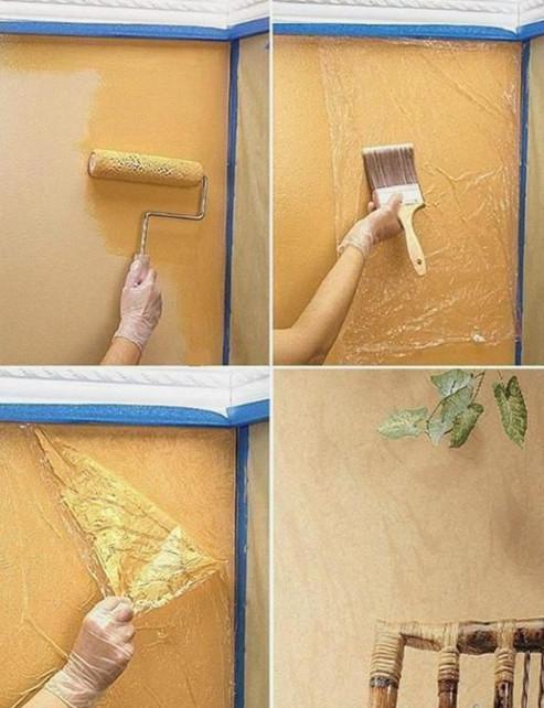 Колоритно и фактурно: 20 креативных идей для декора стен и пола...