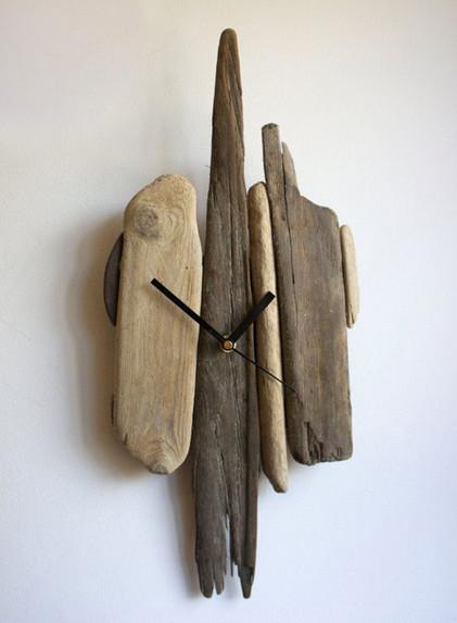 Поделки из бросовых деревяшек: интересные интерьерные решения...