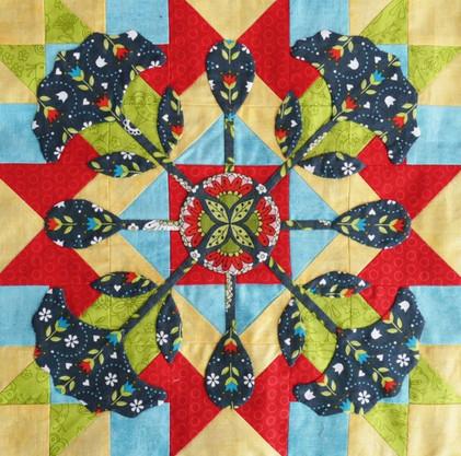 Секреты лоскутной мозаики для начинающих...