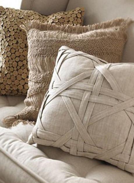 21 восхитительная идея создания декоративных подушек. Это под силу даже тем, кто не умеет шить.