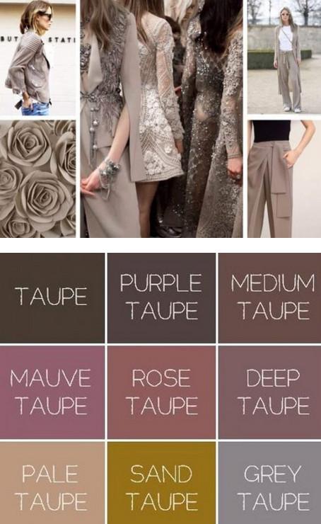 Хит 2018 года: Цвет «Тауп» – сдержанная элегантность, которая будет трендом этого сезона!