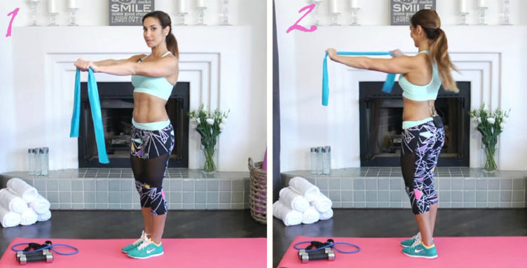 Как за 6 минут в день убрать складки со спины. 4 простых и эффективных упражнения...