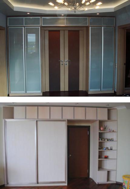 Шкаф вокруг двери. Необычные и практичные идеи интерьера.