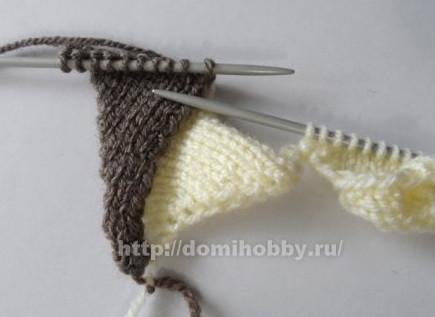 Техника энтерлак: вязание спицами для начинающих и пошаговый мастер-класс по вязанию узора...