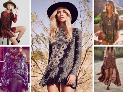 Бохо стиль: выкройки платьев, юбок, сарафанов, туники, блузы, кардигана, брюк для полных женщин...