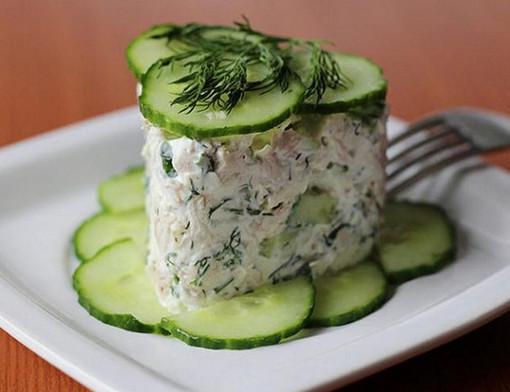 Топ-10 самых быстрых салатов! Готовятся за 10 минут.