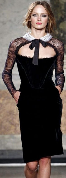 Маленькое чёрное платье: 30 идей для безупречности...