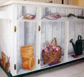 25+ блестящих идей обновления мебели в технике декупаж...