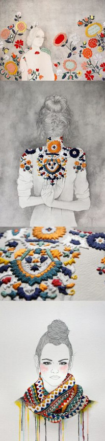 Очаровательная вышивка в мексиканском стиле — более 30 фото идей...