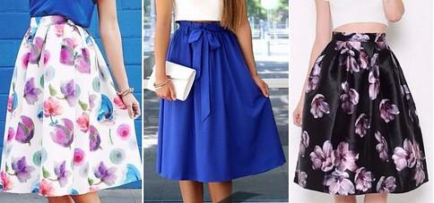 Красивую юбку на лето можно сшить своими руками!