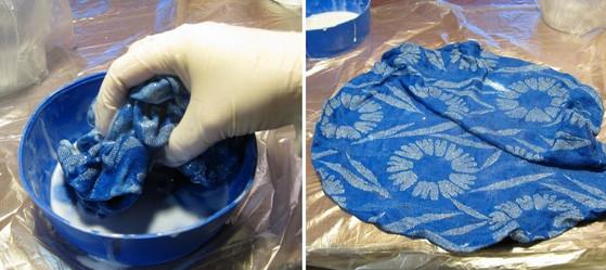 Добавьте к куску старой ткани немного клея, чтобы создать невероятную вещь...