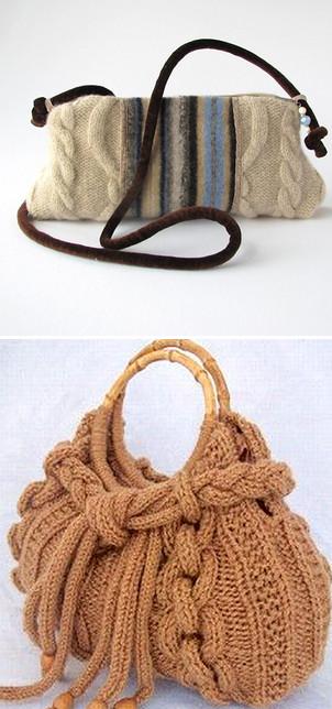 Вязаные сумки. Идеи, советы + мастер класс своими руками