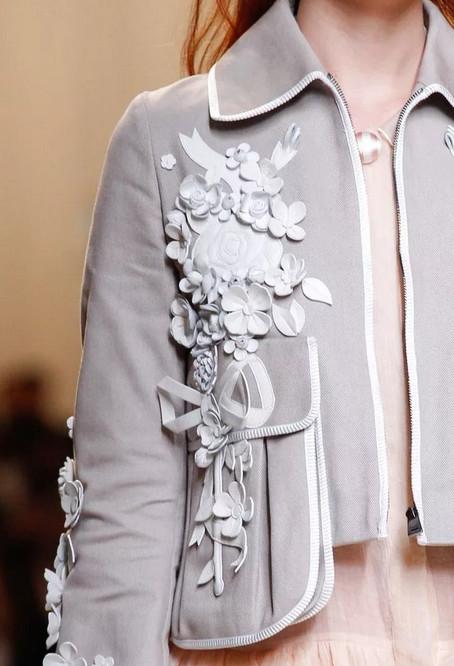Детали модной и стильной одежды