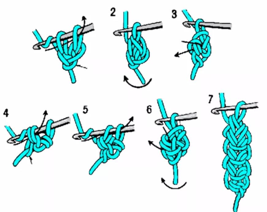 Вязание крючком своими руками для начинающих + пошаговый самоучитель. Урок 21