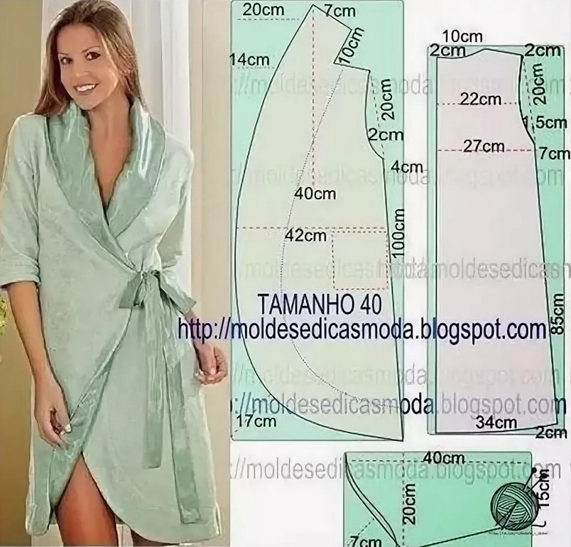 Как сшить халат за 30 минут
