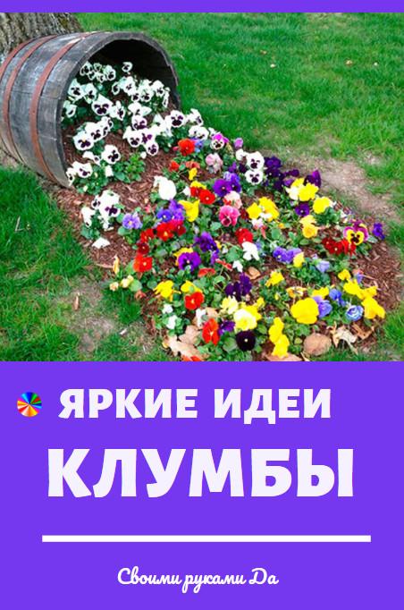 Дача и сад: самые яркие и красивые идеи клумбы своими руками