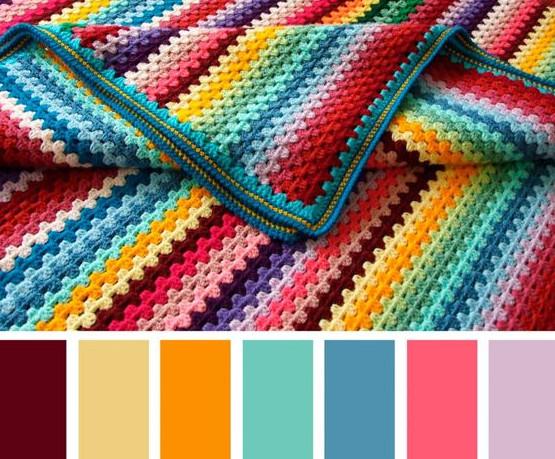 Как правильно сочетать цвета в вязании... Очень нужная шпаргалка, СОХРАНЯЙТЕ!