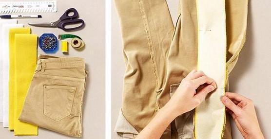 Переделка маленькой одежды в большую