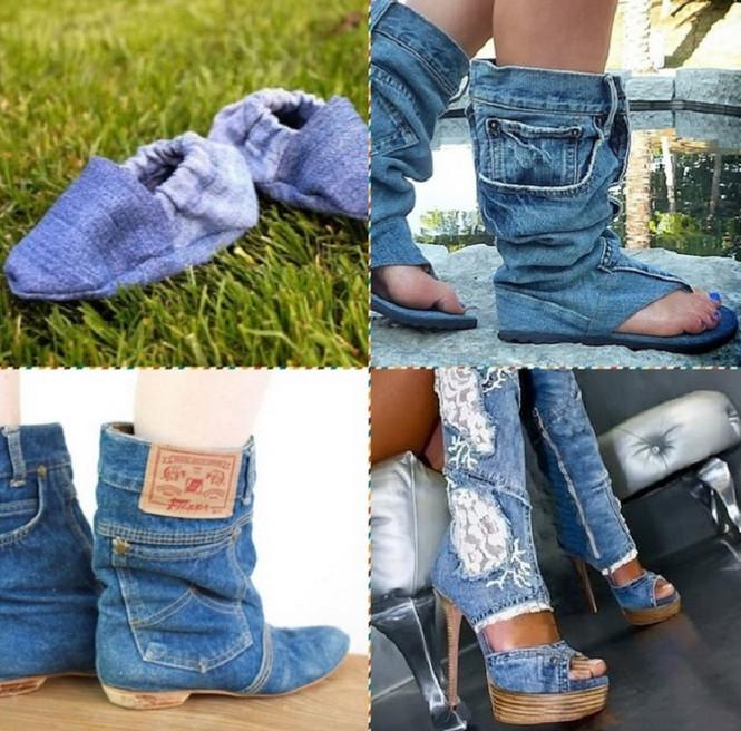 30 эксклюзивных идей: больше ты точно некогда не выбросишь джинсы!