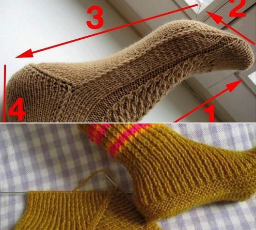 2017-11-02_140808 Как вязать носки спицами для начинающих: пятью и двумя спицами с видео.