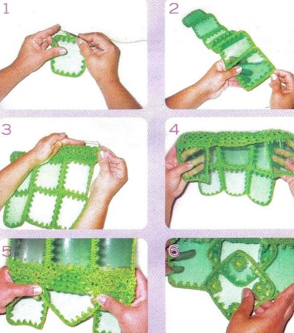Сумки из пластиковых бутылок +видео м/к!!!