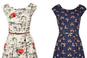 Простое платье на лето с выкройками