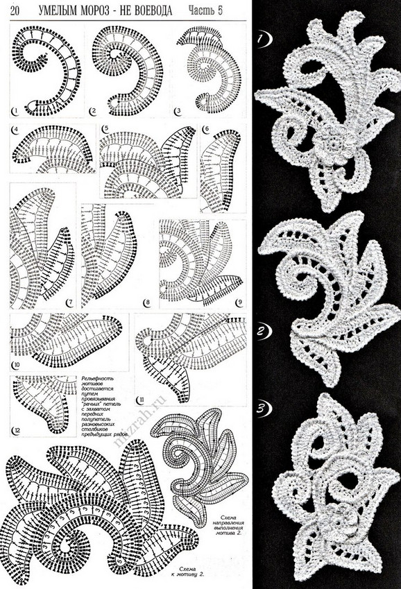 Great sweater with Irish lace: an idea and designs ... more than beautiful!