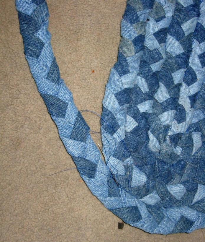 своими плетение из руками джинса