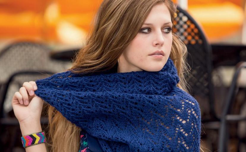 Шарф снуд – круговой шарф-хомут