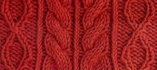 Косы спицами, схемы и модели с косами, Узоры для вязания спицами