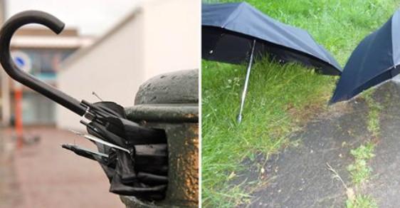Новое применение старому зонту: 14 любопытных идей для дома и дачи
