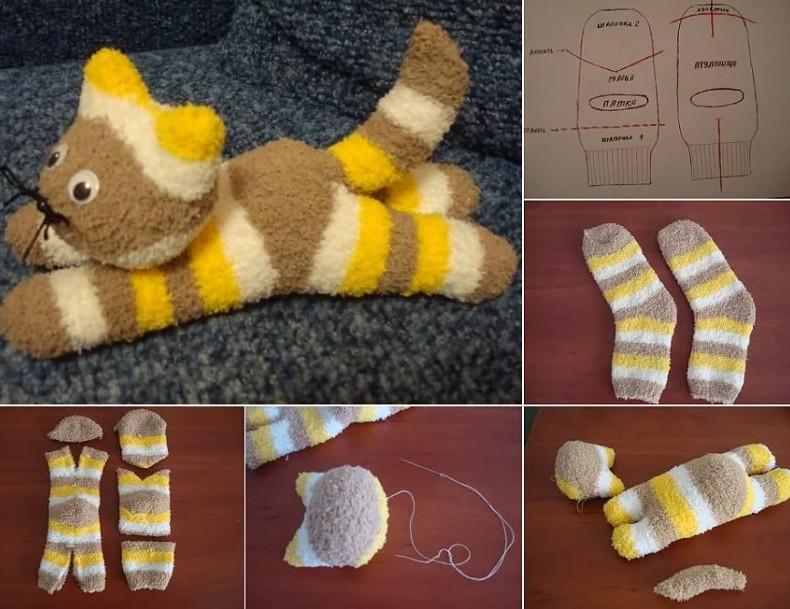 Что можно сделать из непарного носка своими руками