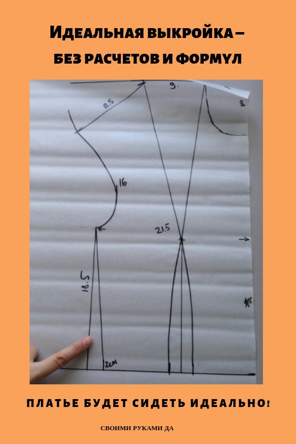 Как при шитье сделать выкройки одежды легко и просто вы узнаете из нашего мастер класс