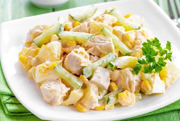 Решила сделать простой салатик, порадовать семью... с курицей... Женская логика, до слез, узнаю себя!
