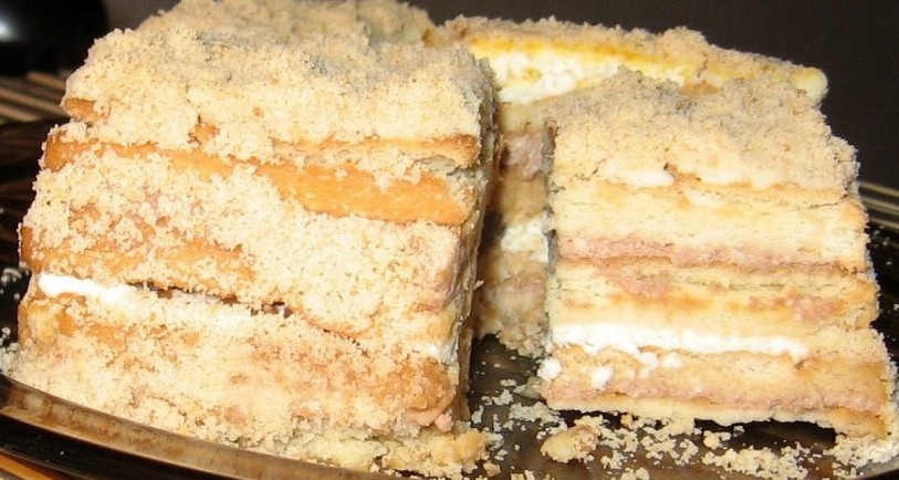Не хочу в жару возиться с духовкой, но десерт никто не отменял. Сделала торт без выпечки за 15 минут!