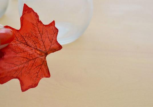 Оригинальный осенний светильник-подсвечник: создаем романтическое настроение...