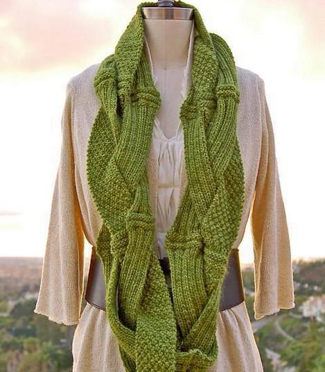 Такие разные и неповторимые: идеи оригинальных и красивых шарфов... 15 неповторимых вариантов!