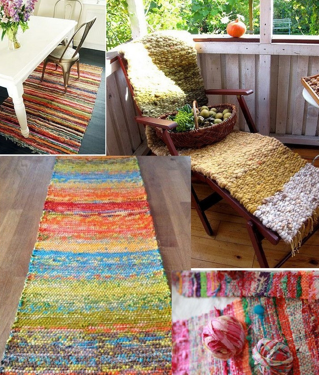 Ручное ткачество: бесконечное множество идей для применения...