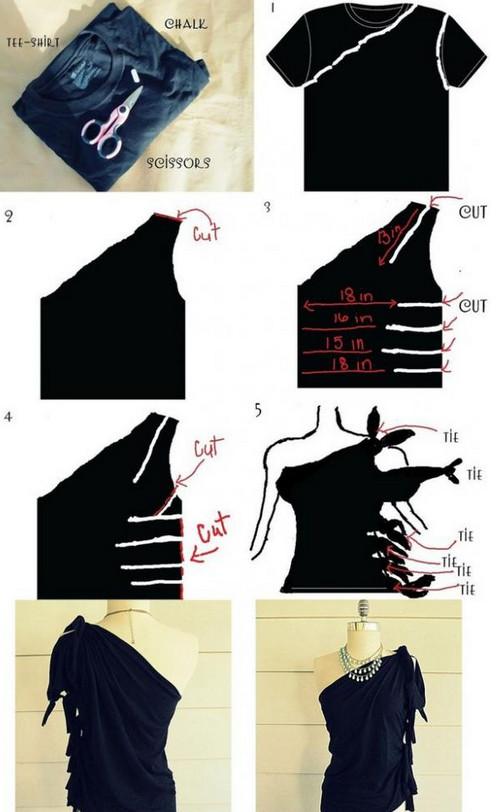 Во что можно превратить футболки и маечки - идеи и мастер-классы...