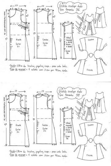 Такое платье скроет все недостатки...