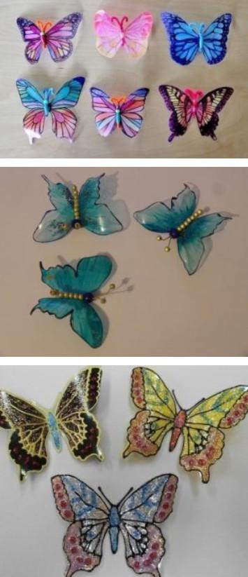 Превратите пластиковую бутылку в прекрасную витражную бабочку...