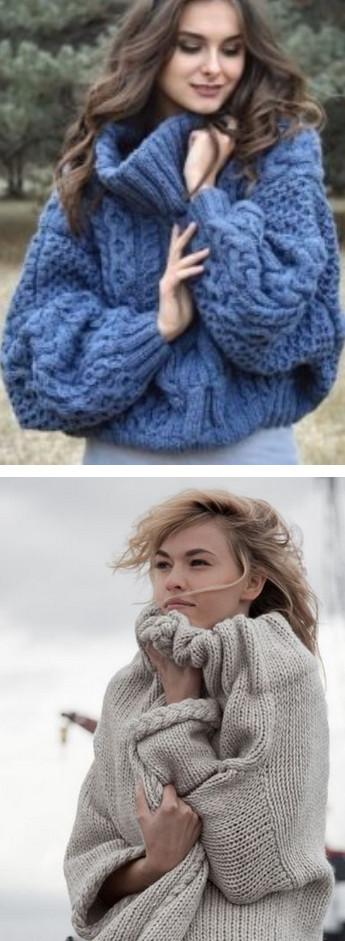 Уютный oversize: модный образ холодной осени...