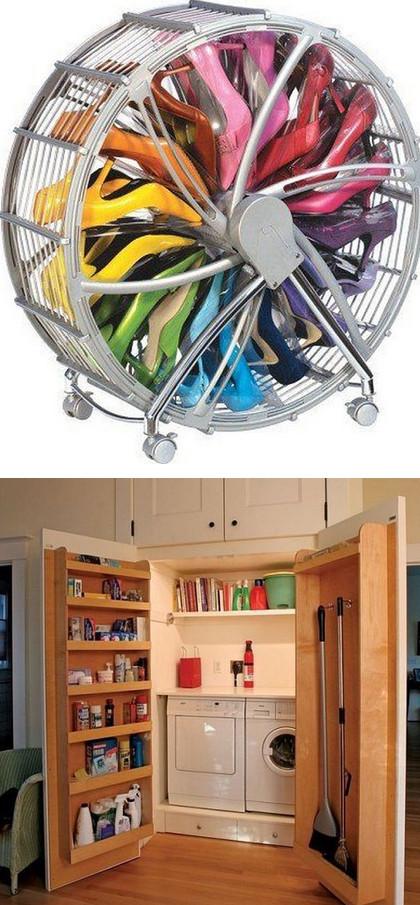 40+ необычных идей для домашнего интерьера...