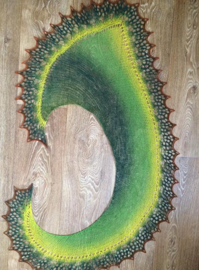 Изумительно яркие и красивые палатины для осени от Тани Дмитренко... Впечатляющие работы!