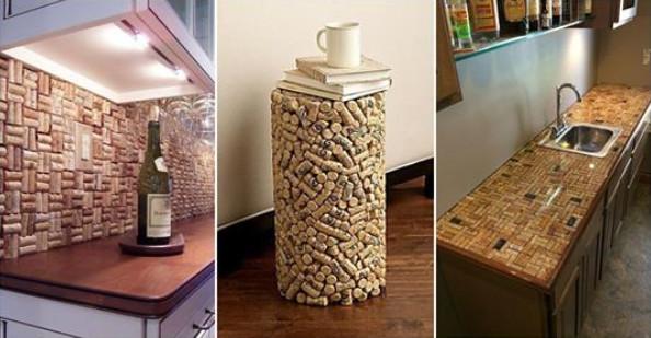 Крутые проекты с использованием винных пробок...