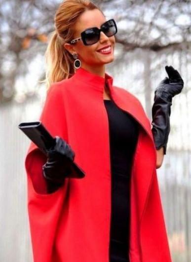 Утепляемся со вкусом, подборка схем модных пальто на осень...