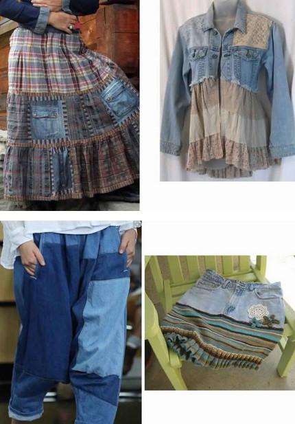 Как из старой одежды сделать новые стильные вещи. Часть 2
