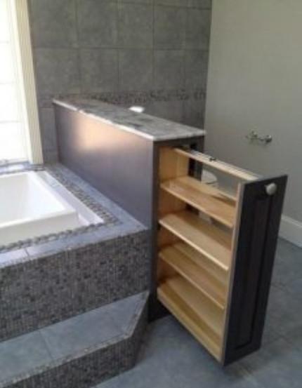 15 любопытных идей компактной системы хранения в туалете...