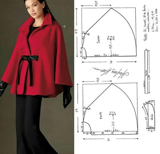Красивая одежда: интересные и простые выкройки